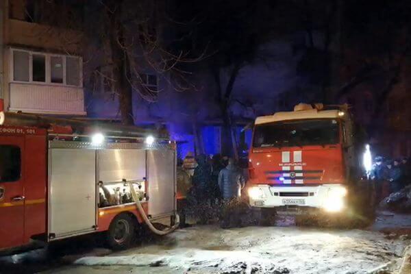 Число пострадавших на ночном пожаре в Самаре выросло до трех человек | CityTraffic