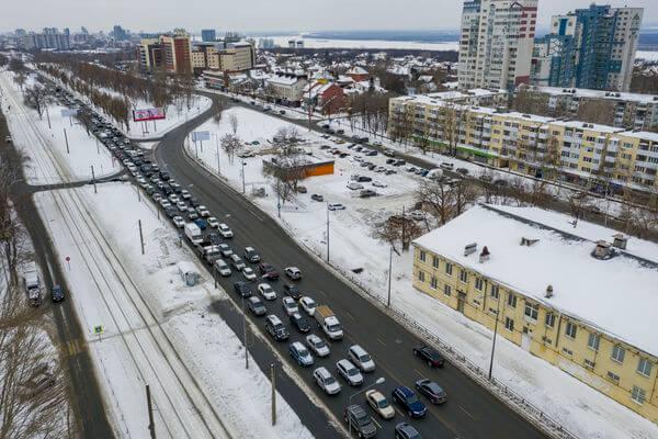 В Самаре подрядчик строительства дублеров на Ново-Садовой предупредил жителей об отключении воды | CityTraffic
