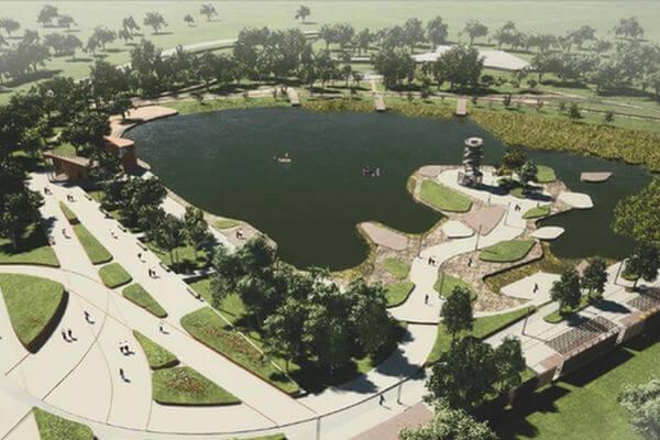 В 2021 году в Кинеле благоустроят парк на Крымском озере | CityTraffic