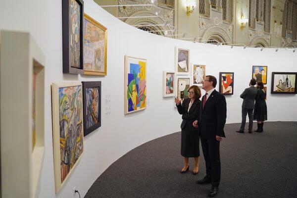 В Самаре под патронажем Третьяковской галереи начала работать выставка художников-авангардистов