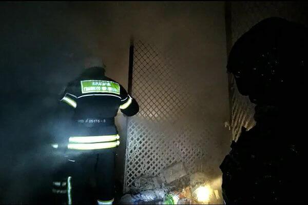 Пожар на рынке Ракита в Самаре потушили через 7 часов | CityTraffic