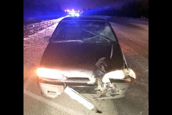 Нетрезвый водитель сбил человека, который шел по середине дороги между Самарой и Новокуйбышевском   CityTraffic
