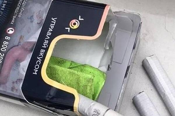 Житель Тольятти прятал метилэфедрон в пачке с сигаретами | CityTraffic