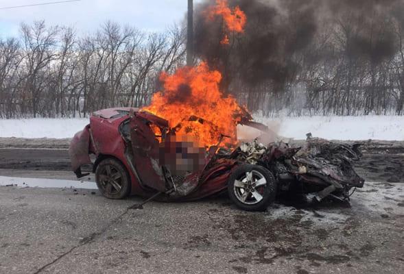По факту ДТП в Самарской области, в котором погибли 3 человека, возбуждено уголовное дело | CityTraffic