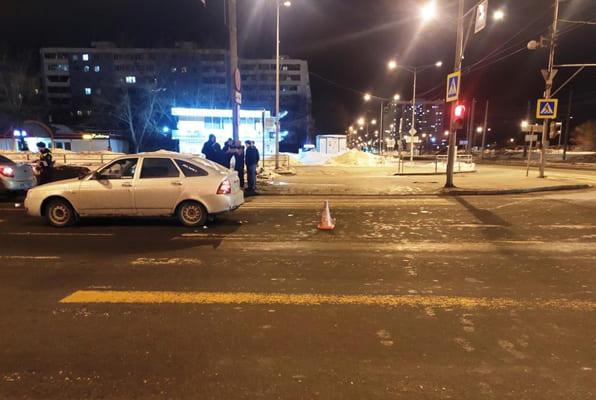 На Московском шоссе в Самаре «Лада» сбила пешехода | CityTraffic