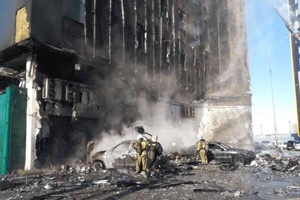 В ТОЦ «Скала» в Самаре потушили огонь: видео | CityTraffic