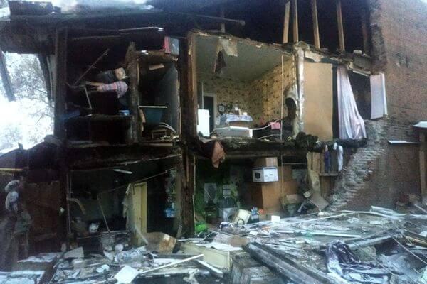 В жилом доме Самары обрушилась стена | CityTraffic