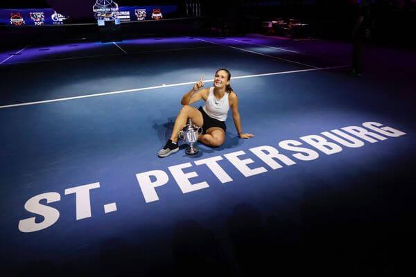 Дарья Касаткина выиграла турнир St. Petersburg Ladies Trophy | CityTraffic