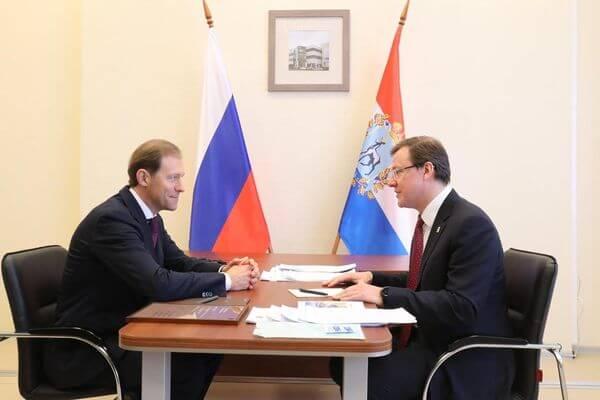 Глава минпромторга РФ оценил перспективы развития промышленности в Самарской области | CityTraffic