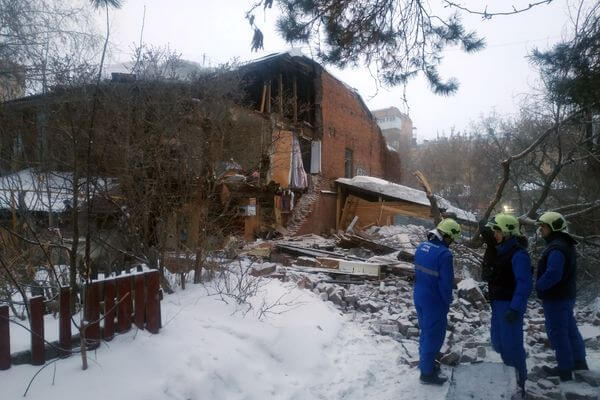 СК возбудил уголовное дело из-за рухнувшей стены дома в Самаре | CityTraffic
