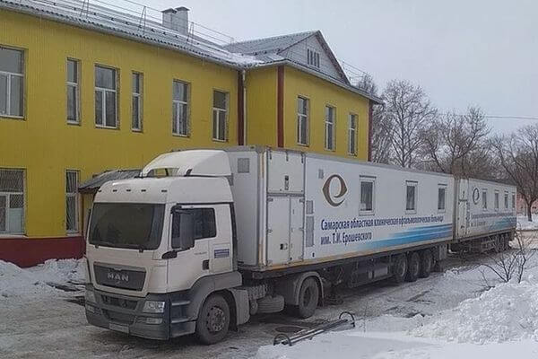 В Тольятти приехал мобильный комплекс больницы имени Ерошевского | CityTraffic