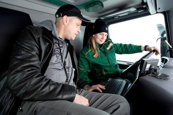 Мастер-класс Scania только для женщин | CityTraffic