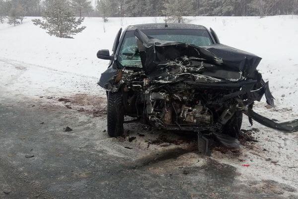 В Самарской области водитель из Татарстана врезался в грузовую ГАЗель из Удмуртии | CityTraffic