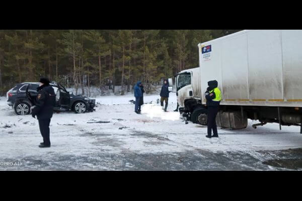 В аварии под Самарой погибли 7 человек   CityTraffic