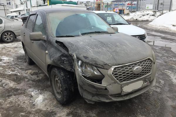 В Самаре после ДТП в больницу попала пассажирка такси | CityTraffic