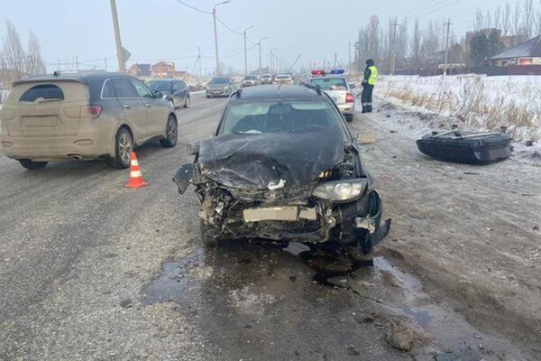 Пятилетний ребенок пострадал в автомобильной аварии под Тольятти   CityTraffic