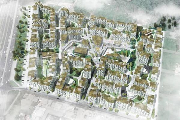 """В Самаре планировкой территории ЖК """"Арена Парк"""" занялись  датские архитекторы   CityTraffic"""