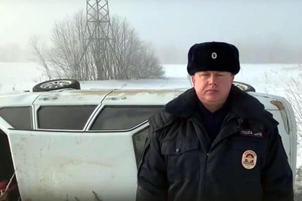 Погибла пассажирка вазовской легковушки, которая опрокинулась на трассе в Самарской области   CityTraffic