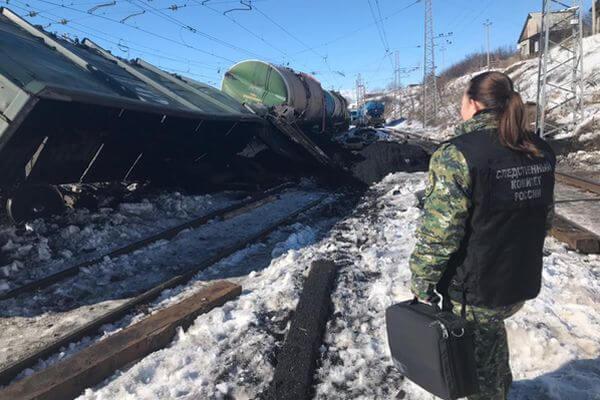 По факту схода вагонов с углем с рельсов в Самарской области проводится доследственная проверка | CityTraffic