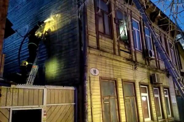 Пожар в жилом доме Самары начался на чердаке | CityTraffic