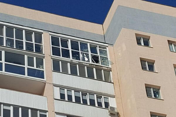 В Самаре взрывом выбило окна квартиры 17-этажного дома | CityTraffic