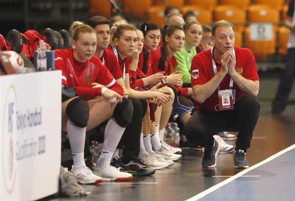 Сборная России с тремя игроками «Лады» завоевала путевку на Олимпиаду в Токио   CityTraffic