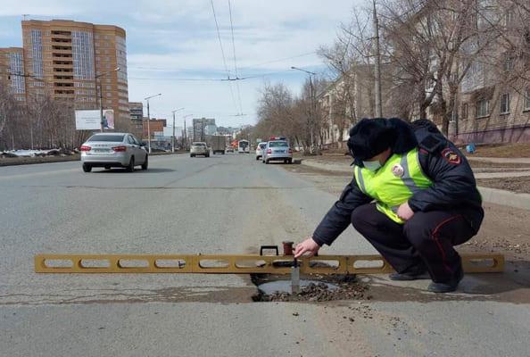 В ГИБДД Тольятти назвали самые разбитые городские дороги | CityTraffic
