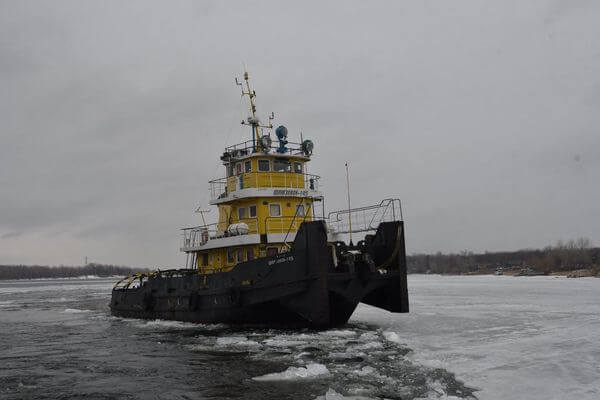 В Самарской области ледоколы проложили дорогу для начала речной навигации | CityTraffic