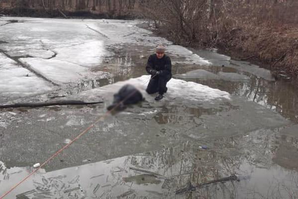 В Тольятти на льду затопленного карьера нашли тело женщины | CityTraffic