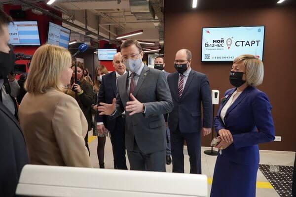 """В Самаре открылся региональный центр услуг для предпринимателей """"Мой бизнес"""""""