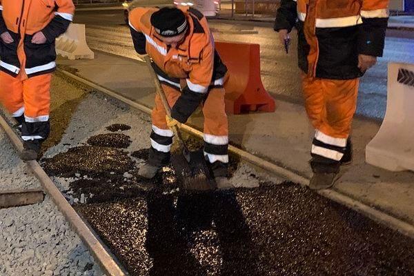 В Самаре с 9 по 12 апреля восстановят покрытие на трамвайных путях на пересечении Московского шоссе и улицы Врубеля | CityTraffic