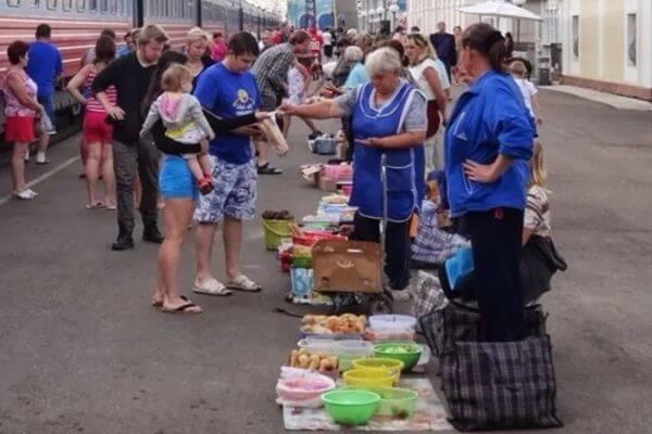 На жд платформах в Самаре разрешат торговать только тем, кто имеет договор с РЖД | CityTraffic