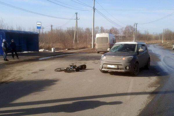 """В Жигулевске велосипедист по пал в больницу, столкнувшись на дороге с """"Киа""""   CityTraffic"""