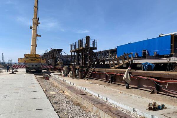 В Самарской области готовятся к надвижке пролетных строений на мосту через Волгу | CityTraffic