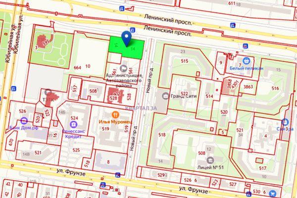 Возле здания администрации Автозаводского района Тольятти планируют построить 16-этажный жилой дом | CityTraffic