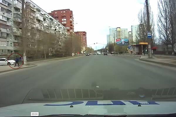 В Тольятти на улице Дзержинского перенесли пешеходный переход | CityTraffic