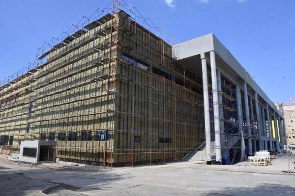 Строящийся Дворец спорта в Самаре получит имя Владимира Высоцкого | CityTraffic