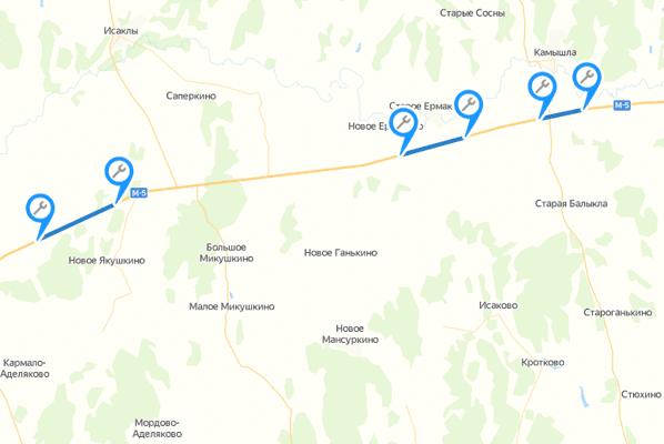 Три участка трассы М-5 в Самарской области станут более ровными | CityTraffic