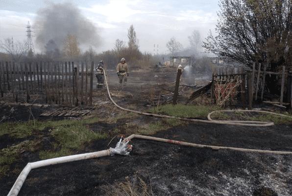 В Волжском районе Самарской области огонь уничтожил 14 дачных строений | CityTraffic