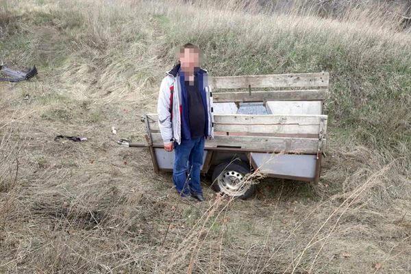 Житель Самарской области украл прицеп и спрятал его у реки   CityTraffic
