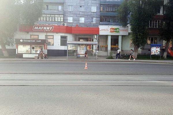 В Самаре сбили 82-летнего пенсионера, который шел к трамваю | CityTraffic