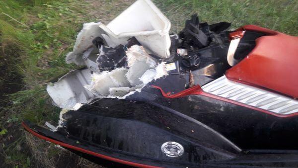 Женщина погибла, врезавшись на гидроцикле в дерево в Самарской области | CityTraffic
