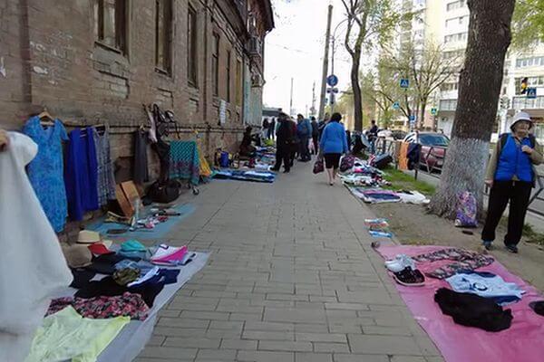 Самарцы снова организовали блошиный рынок в центре города | CityTraffic