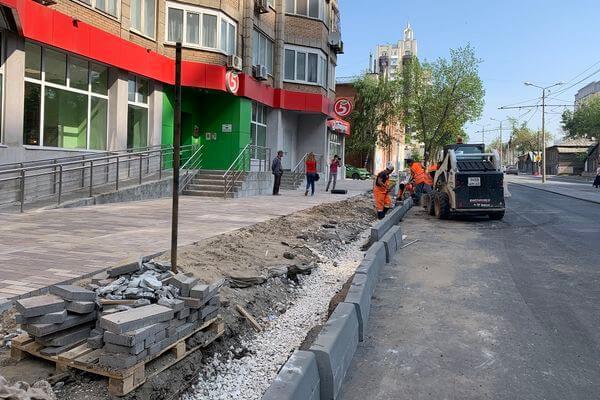 В Самаре продолжается ремонт улицы последнего участка улицы Арцыбушевской | CityTraffic