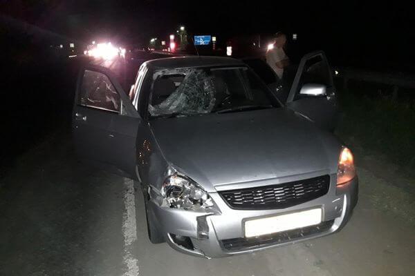 На трассе в Самарской области ночью насмерть был сбит мужчина в сланцах   CityTraffic