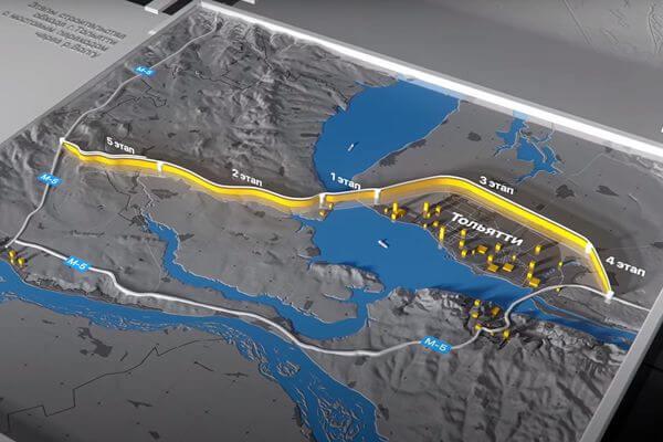 Под Тольятти начали строить дорогу с развязкой и несколькими путепроводами | CityTraffic