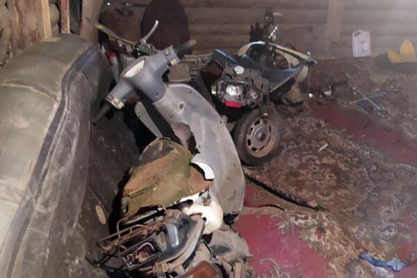 В Сызрани студент техникума украл у соседа два скутера | CityTraffic