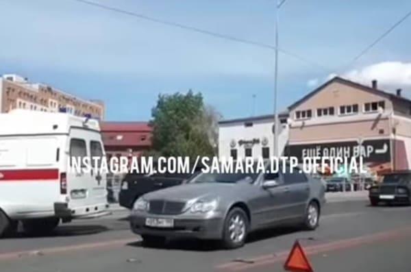 В Самаре на Московском шоссе произошло ДТП | CityTraffic