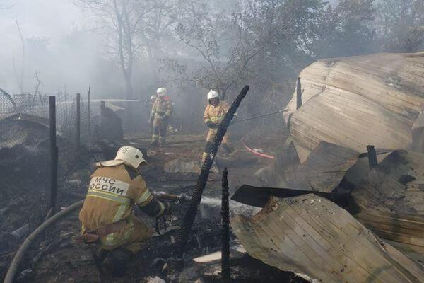В Самарской области на острове Поджабный сгорели 7 строений | CityTraffic