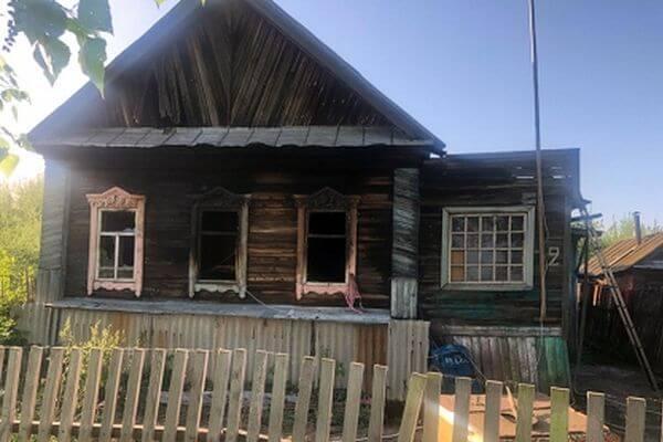 В Самарской области на пожаре погиб ребенок